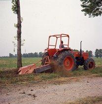 [SAME] trattore Panther DT nella pulitura di fossati