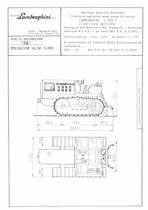 Atto di omologazione della trattrice Lamborghini C 554 C e versione derivata