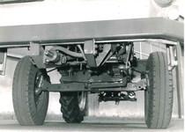 Samecar Agricolo - Particolare dell'assale anteriore