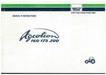 AGROTRON 160-175-200 - Utilisation et Entretien