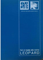 LEOPARD 85 - Catalogo Parti di Ricambio / Catalogue de pièces de rechange / Spare parts catalogue / Ersatzteilliste / Lista de repuestos