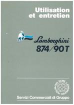 874/90T - Utilisation et Entretien