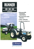 RUNNER 250 - 350 - 450 also in the versione with hydrostatic transmission
