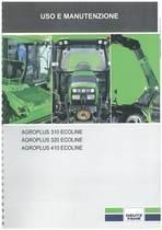 AGROPLUS S 310-320-410 ECOLINE - Libretto Uso & Manutenzione