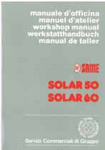 SOLAR 50 - 60 - Manuel d'atelier