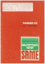 RANGER 45 - Libretto uso & manutenzione