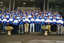 Appassionati Lamborghini in visita allo stabilimento di Treviglio