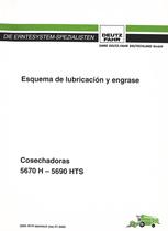 5670 H - 5690 HTS - Esquema de lubricacion y engrase