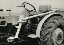 [Deutz-Fahr] trattore D 45 06 e particolare della seduta