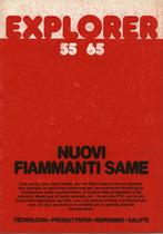 EXPLORER 55 - 65 - Nuovi fiammanti SAME