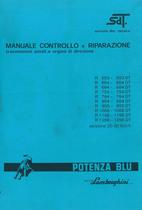 R 653 - 654 - 684 - 754 - 784 - 854 - 955 - 1056 - 1156 - 1256 DT - Manuale d'Officina