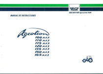 AGROTRON MK 3 106-110-115-120-135-150-165 - Uso y Mantenimiento