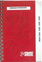 IRON 130S - 140S - 150S - 165S - Manuale d'istruzione