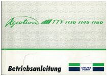 AGROTRON TTV 113 -1145-1160 - Betriebsanleitung