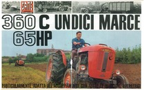 360 C 65 HP undici marce