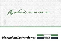 AGROTRON 80 - AGROTRON 90 - AGROTRON 100 - AGROTRON 105 - Manual de instrucciones