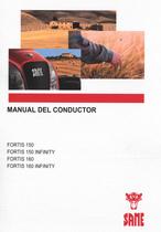 FORTIS 150 - FORTIS 150 INFINITY - FORTIS 160 - FORTIS 160 INFINITY - Manual del conductor