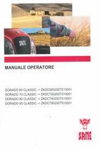 DORADO 60 CLASSIC ->ZKDCS60200TS10001 - DORADO 70 CLASSIC ->ZKDCT00200TS10001 - DORADO 80 CLASSIC ->ZKDCT40200TS10001 - DORADO 85 CLASSIC ->ZKDCT80200TS10001 - Manuale operatore