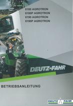 6180 AGROTRON - 6180P AGROTRON - 6190 AGROTRON - 6190P AGROTRON - Betriebsanleitung