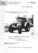 "Report test of Lamborghini Formula 135 VDT ""4WD"""