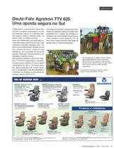 Deutz-Fahr Agrotron TTV 620 Uma aposta segura no Sul