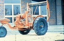 [SAME] trattorino Universale 10 3 ruote con barra falciante rialzata