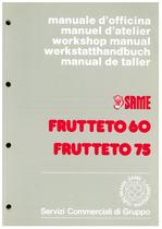 FRUTTETO 60-75 - Manual de taller