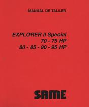 EXPLORER II 70 SPECIAL - EXPLORER II 75 SPECIAL - EXPLORER II 80 SPECIAL - EXPLORER II 85 SPECIAL - EXPLORER II 90 SPECIAL - EXPLORER II 95 SPECIAL - Manual de taller