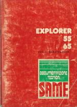 EXPLORER 55 - 65 - Libretto uso & manutenzione