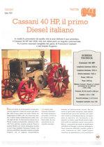 Cassani 40 HP, il primo Diesel italiano