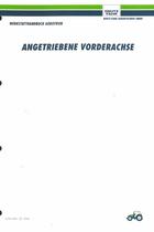 AGROTRON ANGETRIEBENE VORDERACHSE - Werkstatthandbuch