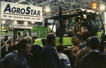 Fiera Agritechnica esposizione trattori Deutz-Fahr