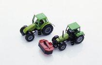 [Deutz-Fahr] modellini trattori Agrotron e Agroxtra 6.07 con falciatrice