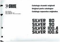 SILVER 80-90-100.4-100.6 - Catalogo Parti di Ricambio / Spare parts catalogue / Lista de repuestos