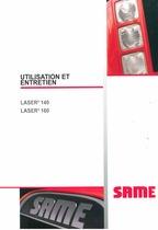 LASER³ 140-160 - Utilisation et entretien