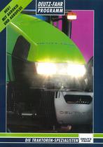 DEUTZ-FAHR Programm - Die Traktoren-Spezialisten