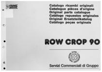 ROW CROP 90 - Catalogo ricambi originali / Catalogue pièces d'origine / Original parts catalogue / Catálogo repuestos originales / Original Ersatzteilkatalog / Catálogo peças originais