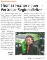 Thomas Fischer neuer Vertriebs-Regionalleiter