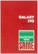 GALAXY 170 - Bedienung und wartung