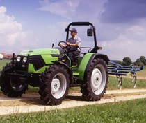 [Deutz-Fahr] trattore Agroplus 60 con ripuntatore