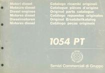 MOTORE 1054 PT - Catalogo Parti di Ricambio / Catalogue de pièces de rechange / Spare parts catalogue / Ersatzteilliste / Lista de repuestos / Catálogo peças originais