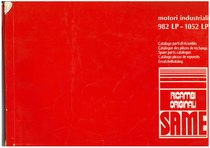 MOTORI INDUSTRIALI 982 LP- 1052 LP - Catalogo Parti di Ricambio / Catalogue de pièces de rechange / Spare parts catalogue / Ersatzteilliste / Lista de repuestos