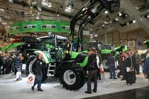 Stand Deutz-Fahr alla Agritechnica 2007