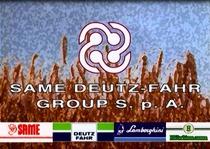Vari trattori del Gruppo SAME Deutz-Fahr