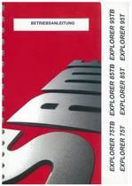 EXPLORER 75/85/95 T e TB - Bedienung und instandhalthung