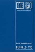 BUFFALO 130 - Catalogo ricambi originali / Catalogue pièces d'origine / Original parts catalogue / Original Ersatzteilkatalog / Catálogo repuestos originales
