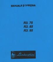 R3.75 - R3.85 - R3.95 - Manuale d'officina