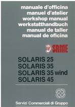 SOLARIS 25 - 35 - 35 WIND - 45 - Manual de Taller