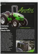 Os tractores compactos da Deutz-Fahr