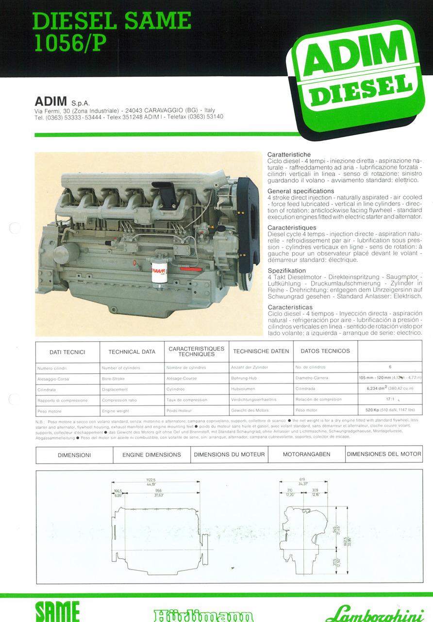 Motore 1056/P
